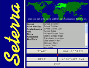 Seterra Geography Program