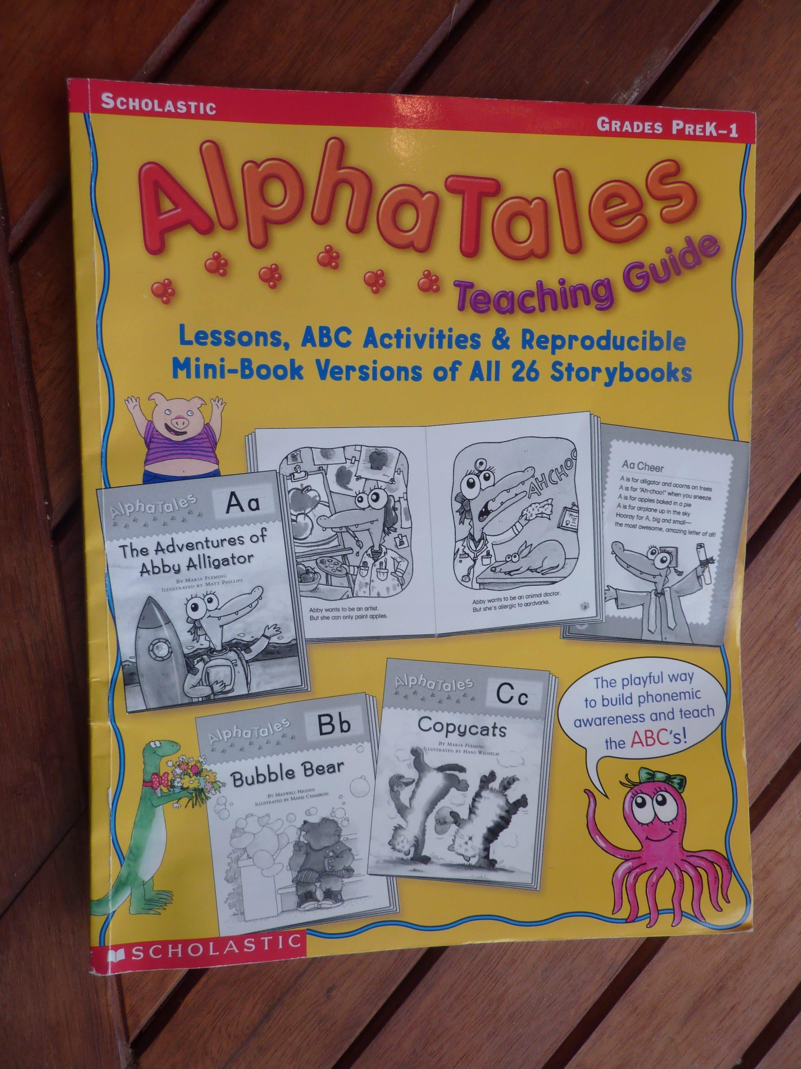 Introduce The ABCs With Big Book Of Alpha Tales