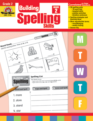 Evan-Moor Building Spelling Skills Review - The Curriculum Choice