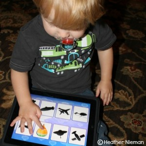 {Review} Trucks and Shadows App for Preschoolers