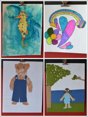 Art Projects Inspired by Picture Books Using Storybook Art