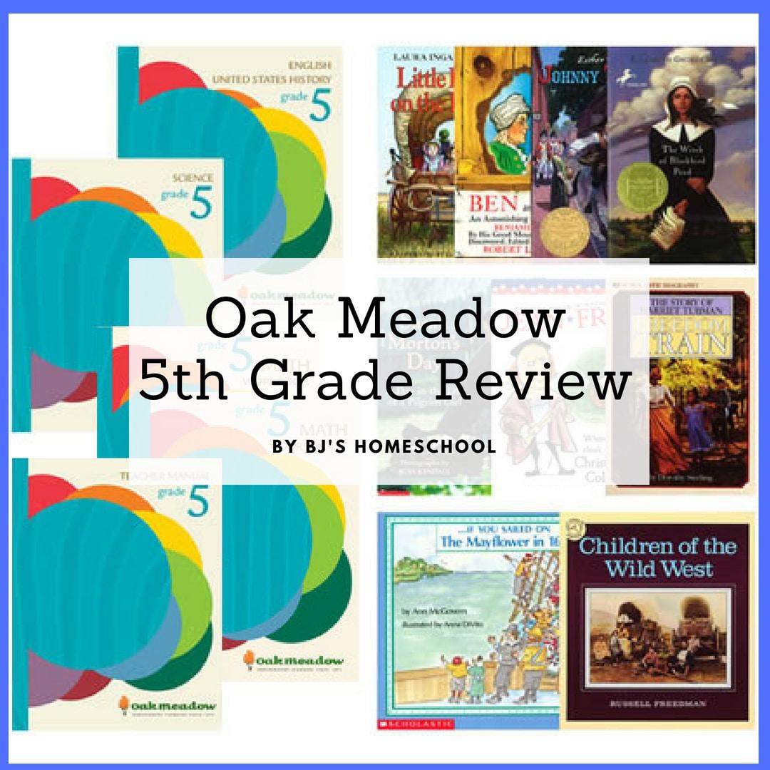 Elementary Homeschool Curriculum Oak Meadow 5 The Curriculum Choice