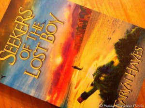 """A review of Seekers of the Lost Boy - """"Read it slowly so we can read this book forever, but read it quickly so I know what happens!"""""""