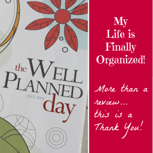 The Well Planned Day Family Planner