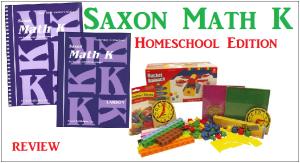 Kindergarten Saxon Math Review