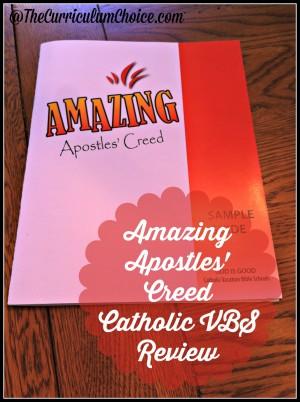 Amazing Apostles' Creed Catholic VBS Review
