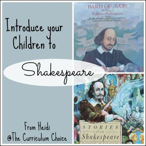 Introduce Your Children to Shakespeare