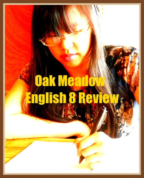 Oak Meadow English 8 Review at The Curriculum Choice - Oak Meadow English 8 is all about introducing the components of good literature to your middle schooler. As a family, we had been using Oak Meadow curriculum for English and history for many years.