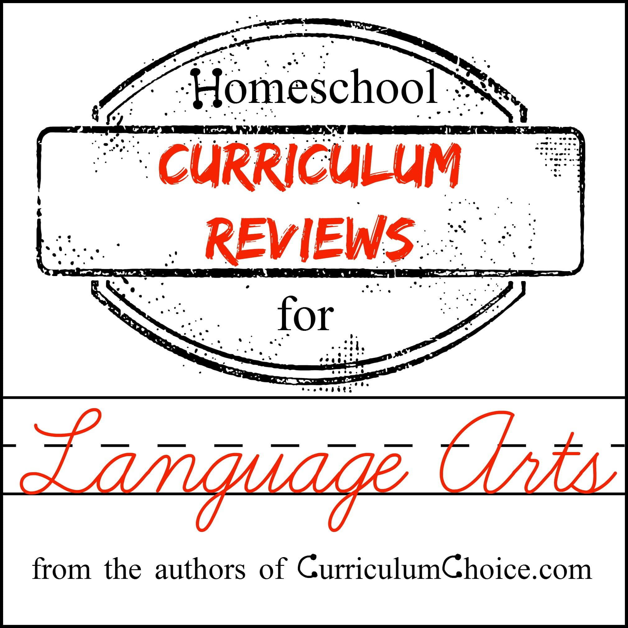 Homeschool Language Arts Curriculum Reviews - The Curriculum Choice