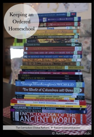 Keeping An Ordered Homeschool