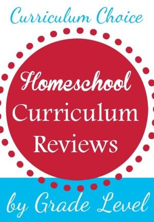 Homeschool Curriculum Choices by Grade