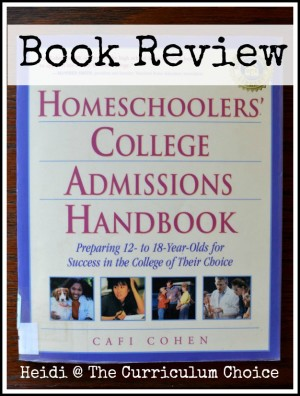 Homeschoolers' College Admissions Handbook Review