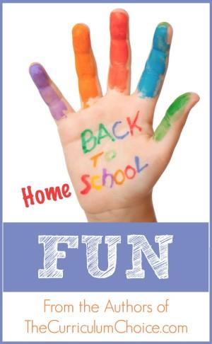 Back to Homeschool Fun