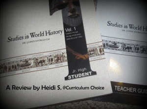 Studies in World History Vol. 1 – A Review