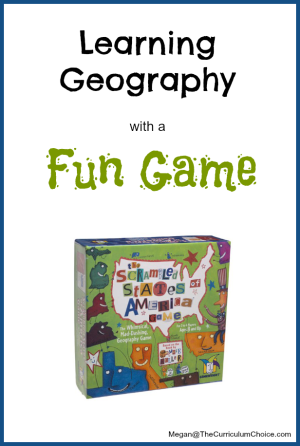 The Scrambled States of America Geography Game