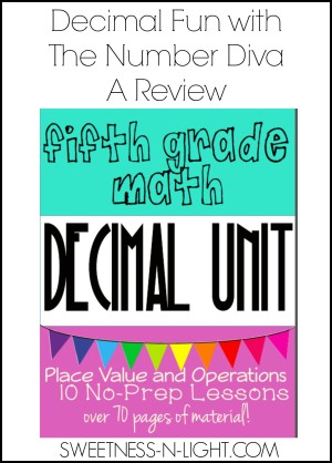 Decimal Fun With The Number Diva – A Review