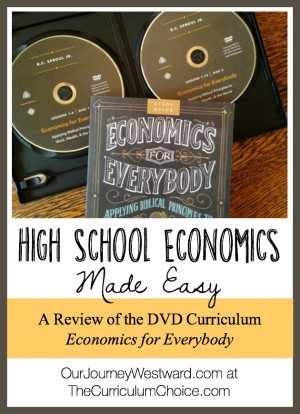 Economics for Everybody is a DVD-based high school course that can be used alone for 1/2 credit and with recommended resources for a full credit.