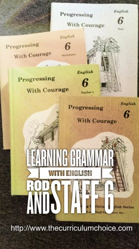 Learning Grammar with English Rod and Staff 6