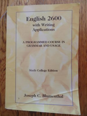 English 2600 High School Grammar Course – My Review