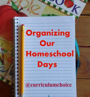 Favorite Ways We Organize Our Homeschool Days
