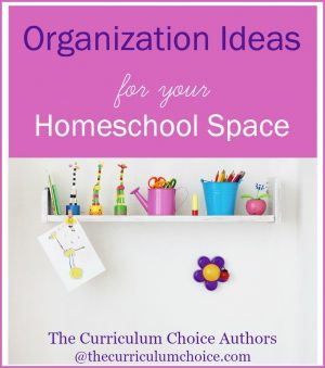 Organization Ideas for Your Homeschool Space