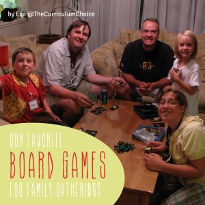 Our Favorite Board Games for Family Gatherings