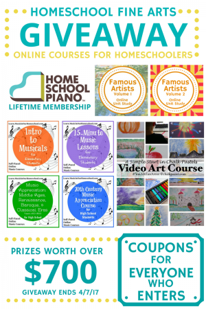 Fine Arts Homeschool Courses