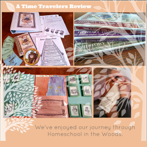 Homeschool in the Woods Time Travelers Review