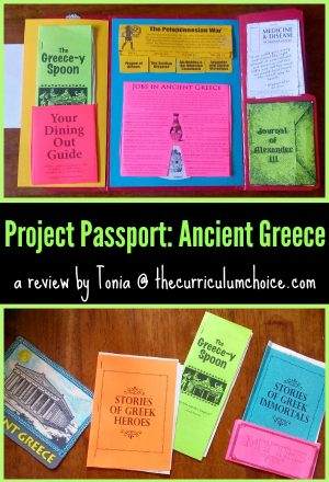 Project Passport: Ancient Greece {from Home School in the Woods}