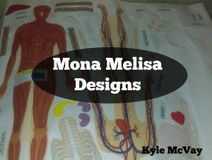 Mona Melissa Human Body Set