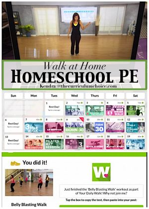 Walk At Home Homeschool PE