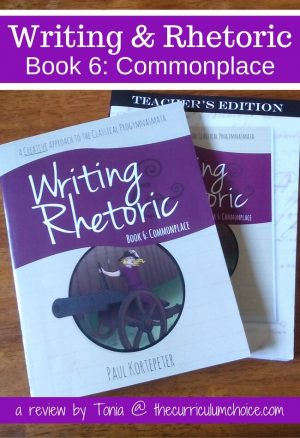 Writing & Rhetoric: Commonplace