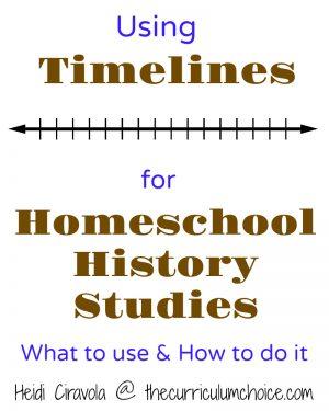 Using Timelines for Homeschool History Studies