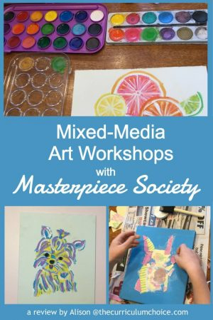Mixed-Media Art Workshops with Masterpiece Society