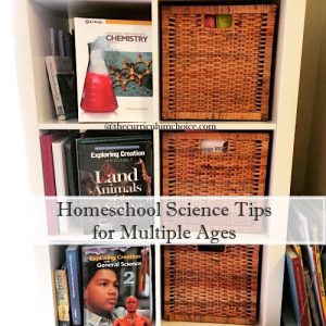 Multiple Age Homeschool Science How Tos