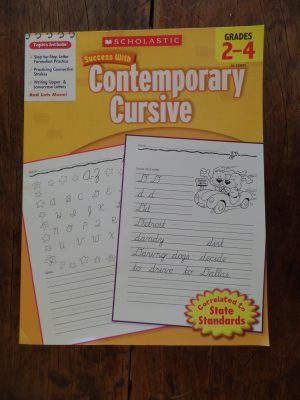 We included cursive writing in our homeschool, as writing things down helps so much in helping remember and recall information. We wanted our daughter to know print and cursive, so she would have two options to choose from. Here are cursive handwriting resources for elementary.