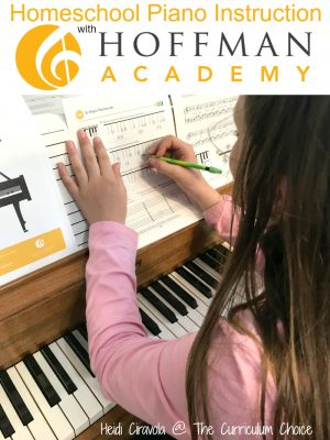 Homeschool Piano Instruction with Hoffman Academy