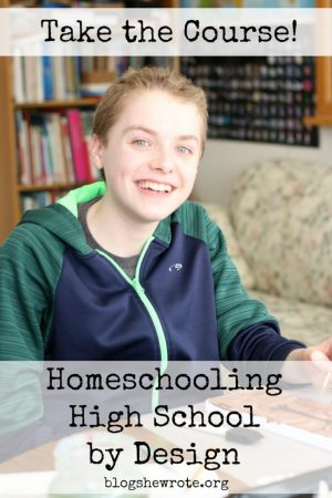 Homeschooling High School eCourses at Blog, She Wrote