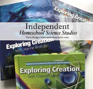 Independent Homeschool Science Studies