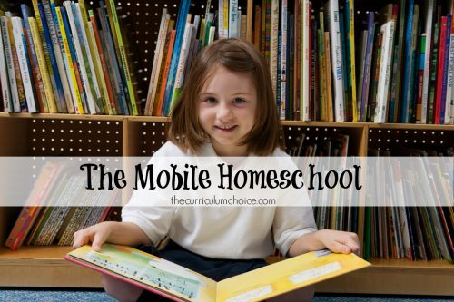 The Mobile Homeschool takes advantage of the tools and environments we find ourselves in and helps our homeschools to thrive no matter where we are. One of the most wonderful things about homeschooling is taking the show on the road.