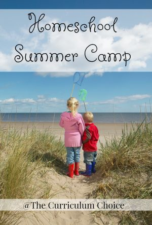 Sum-sum-summertime! Summer is a time for fun and sun and pools and lakes! It's also a time to take a break from regular learning or inserting some new twists on learning. Here at The Curriculum Choice, our authors are excited to bring you their brand of summer homeschooling fun with Homeschool Summer Camp.